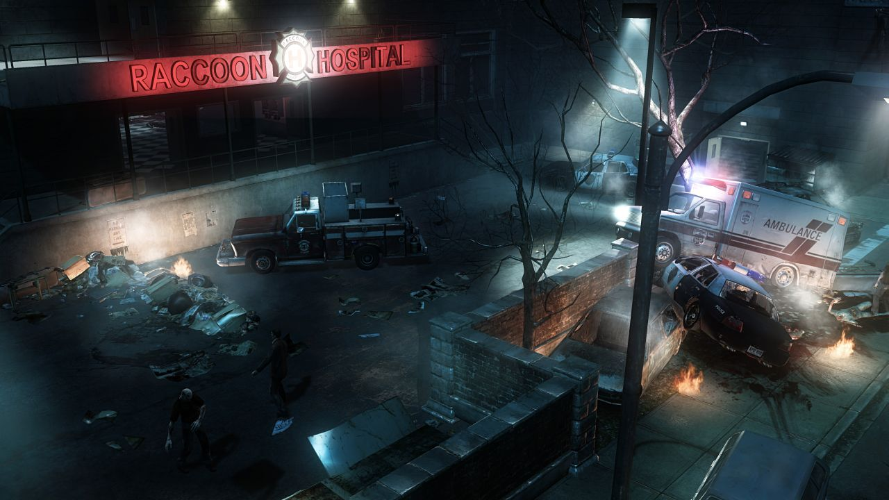 Raccoon City is a desolate, zombie-infested battleground for the few survivors.