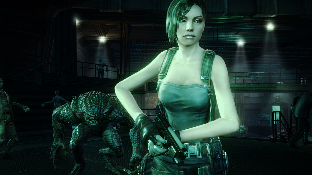 Heroes Mode lets you battle it out with classic Resident Evil characters.